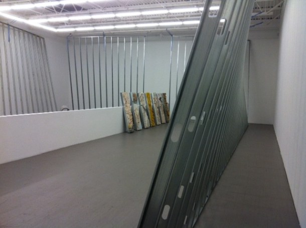 A view from Allyson Vieira's installation