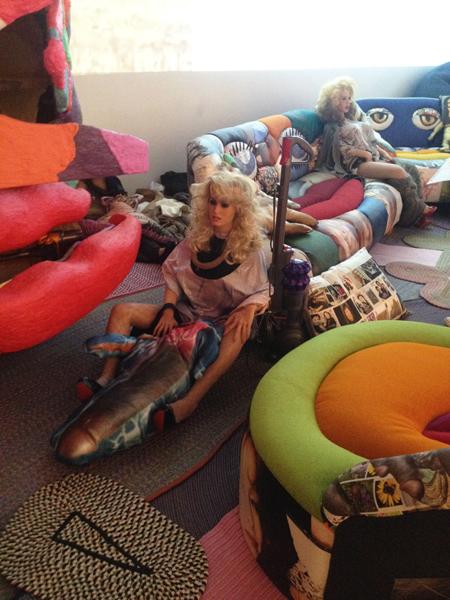 Bjarne Melgaard's installation at the Whitney Biennial (all photos by author)