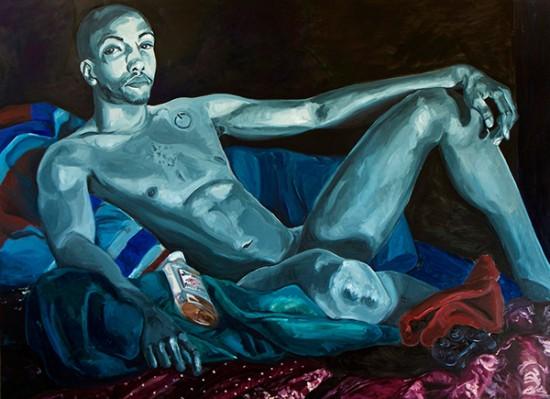 Jordan Casteel, Jerome, 2014, oil on canvas, 54 x 72 inches