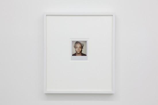 BREYER P-ORRIDGE Untitled (self-portrait), 2004, Polaroid, 4 x 3.25 inches