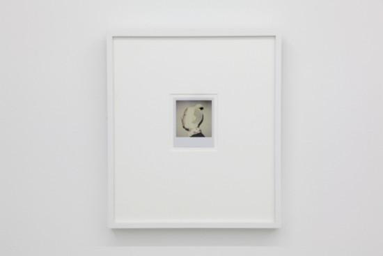 BREYER P-ORRIDGE, Post-op Pinhead, 2004 Polaroid, 4 x 4 inches
