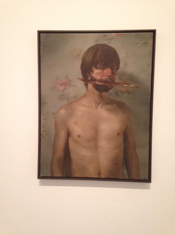 The Whistler, Michaël Borremans, 2009