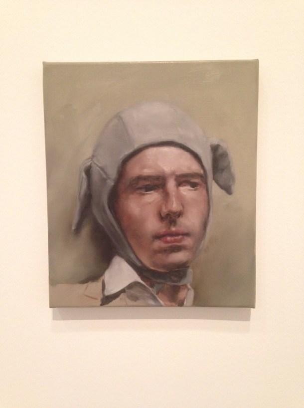 Man Wearing a Bonnet, Michaël Borremans, 2005