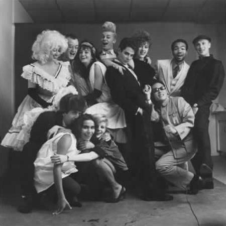 Tseng Kwong Chi, The Gang's All Here, New York, New York, 1980, silver gelatin print