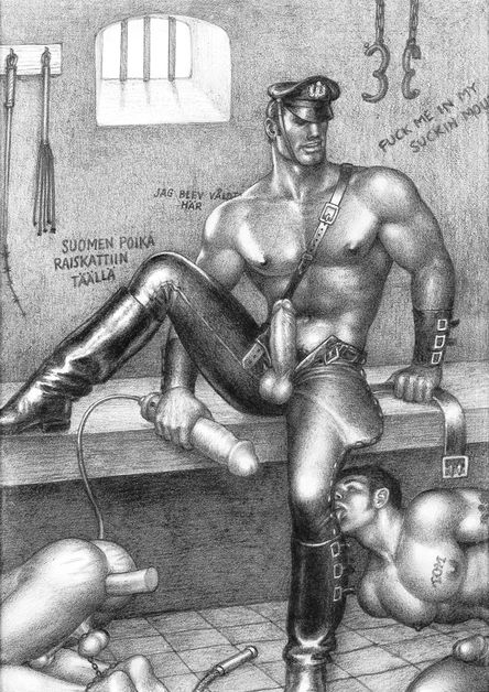Tom of Finland, Untitled, 1967, Graphite on paper Private Collection, Sweden