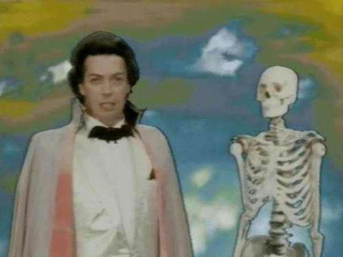 Tim Curry learns anatomy