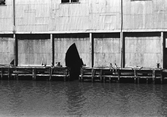 Alvin Baltrop. The Piers (With couple engaged in sex act). 1975-86. Silver Gelatin Print 10 × 8″ (25.4 × 20.3 cm) Courtesy Third Streaming, New York