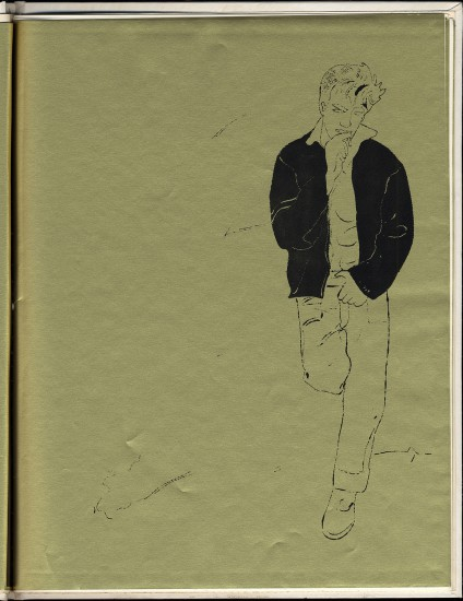 Andy Warhol, A Gold Book, 1957, ©The Andy Warhol Foundation for the Visual Arts, Inc., courtesy of The Andy Warhol Museum, Pittsburgh