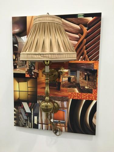 Robert Melee, Atlantic City 5, 2015, Lamp on inkjet print