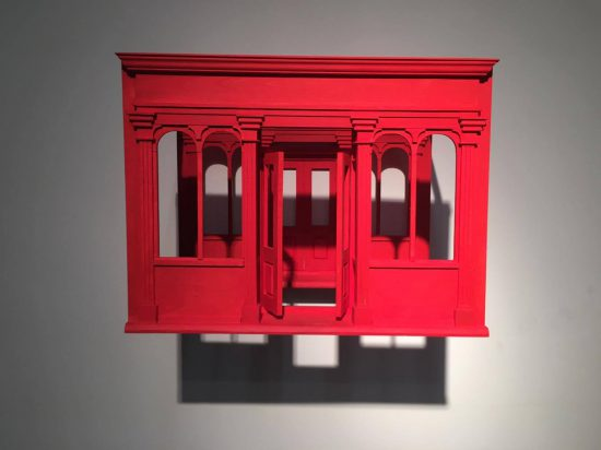 Mathis Altmann, Hygiene and Commerce, 2016, wood, acrylic paint