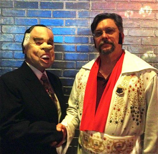 'Richard Nixon' and 'Elvis'