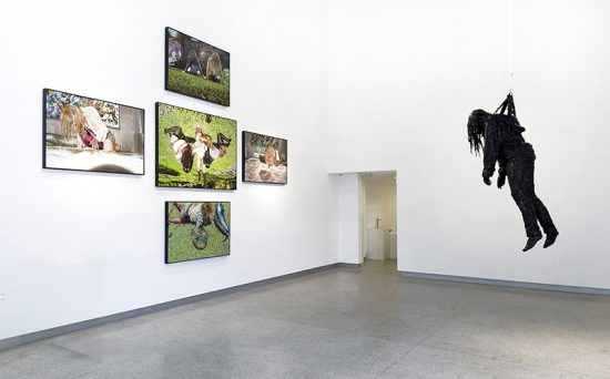 Sophia Hewson, Delivered, internalising the pervert or rebuilding the body psyche 2014, Installation view (Courtesy the artist)