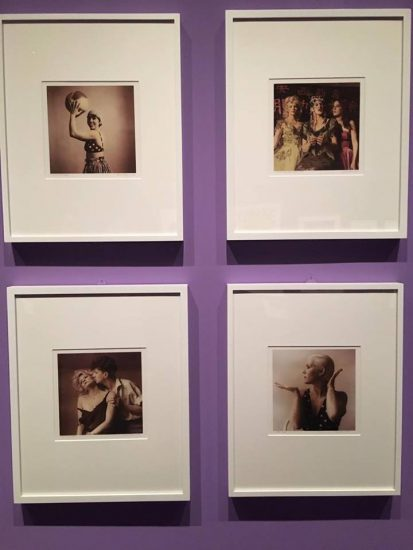 Installation view of Eva Weiss' Wow cafe photos