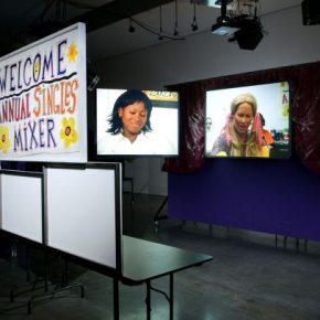 """Singled Out: Living As Stereotypes In Mike Kelley's """"Singles' Mixer"""""""