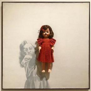 Why Is Everyone Sleeping On Adrian Piper's Teenage Doll Paintings?