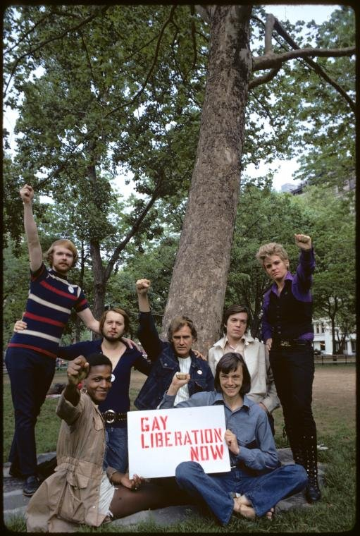 Christopher Street Liberation Day, 1971.