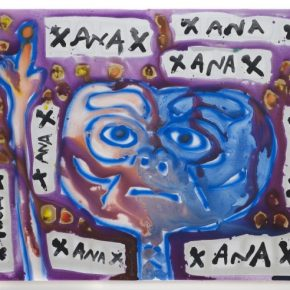 """Filthy Dreams GIF Review: Katherine Bernhardt's """"Done With Xanax"""" At Canada"""