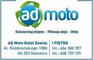 wizytówka ad moto filtracja oleju