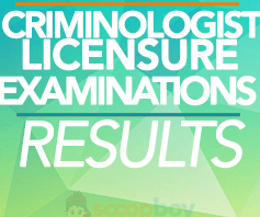 Complete List Of Passers On Criminologist Licensure Examination