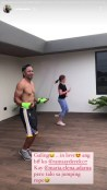 Sweet Photos of Derek Ramsay & Ellen Adarna Doing Work-Out Together Viral Online