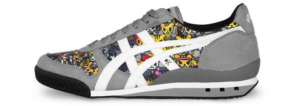 Padding of the onitsuka tiger ultimate 81 parkour shoe