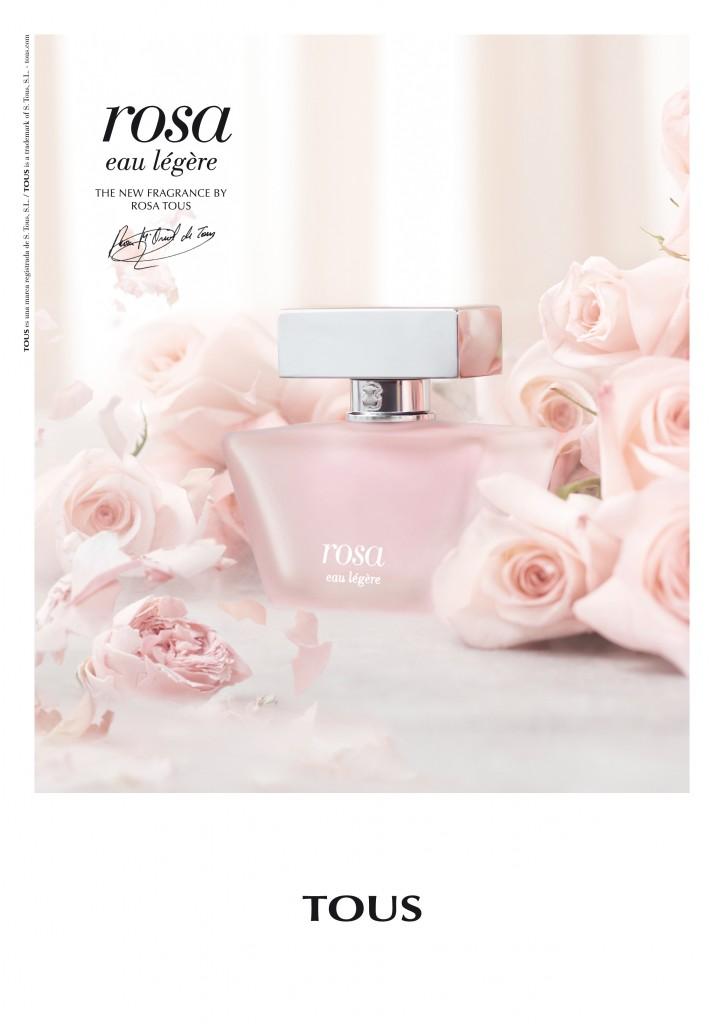 Rosa Eau Legere Tous Perfume A Fragrance For Women 2014