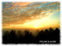 Sonnenaufgang - Oberschwaben