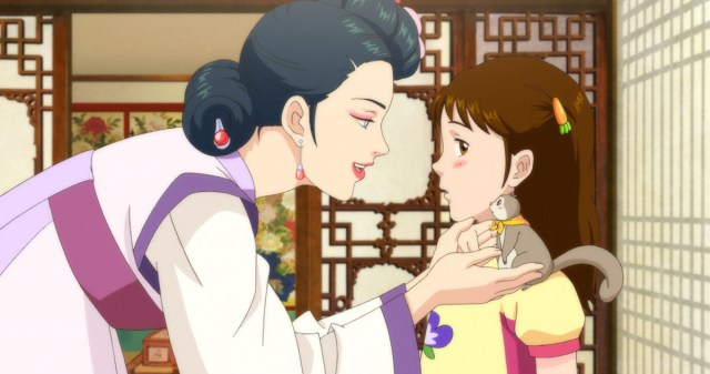 Image result for korean animation lost in the moonlight english subtitles