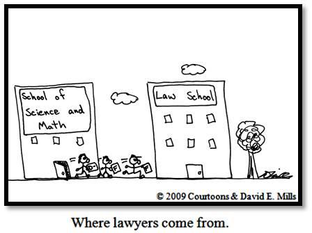 Кто идет в юристы?