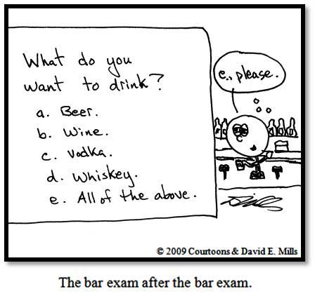 После экзамена в адвокатское сообщество