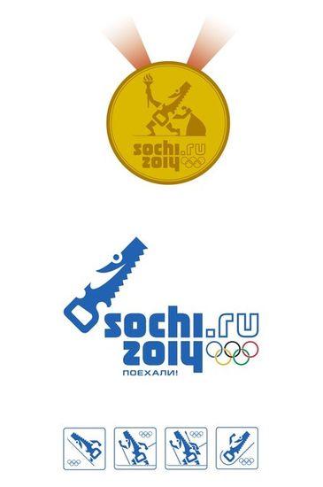 символ олимпиады в Сочи 2014