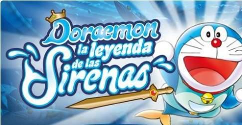 Doraemon Sirenas Portada