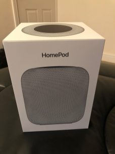 Apple Homepod Box Grey