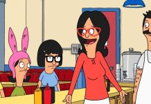 Bobs Burgers Family in Dinner