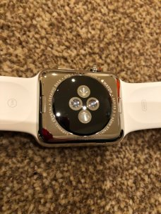 iWatch Series 3 stainless steel