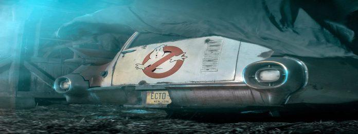 Ghostbusters 2020 Jason Rietman Ecto 1 car