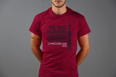 Last Exit To Nowhere Capricorn One T shirt