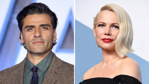 Oscar Isaac and Michelle Williams