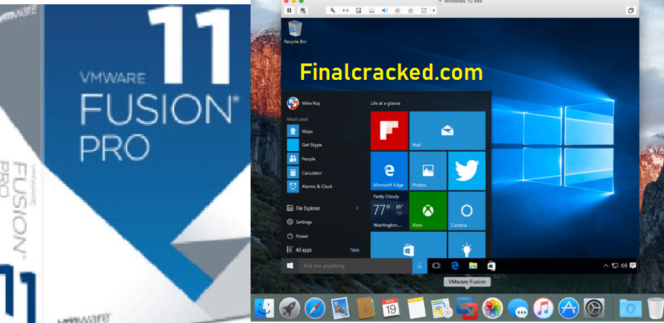 VMware Fusion Crack Download