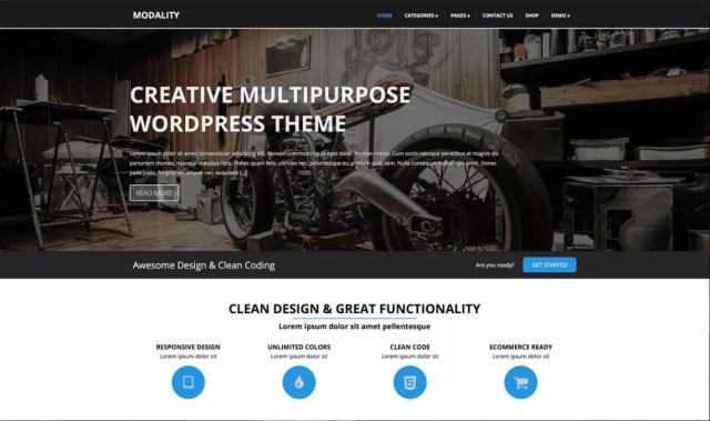 template WordPress gratuiti