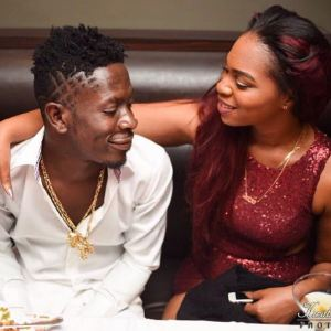 shatta wale and wife