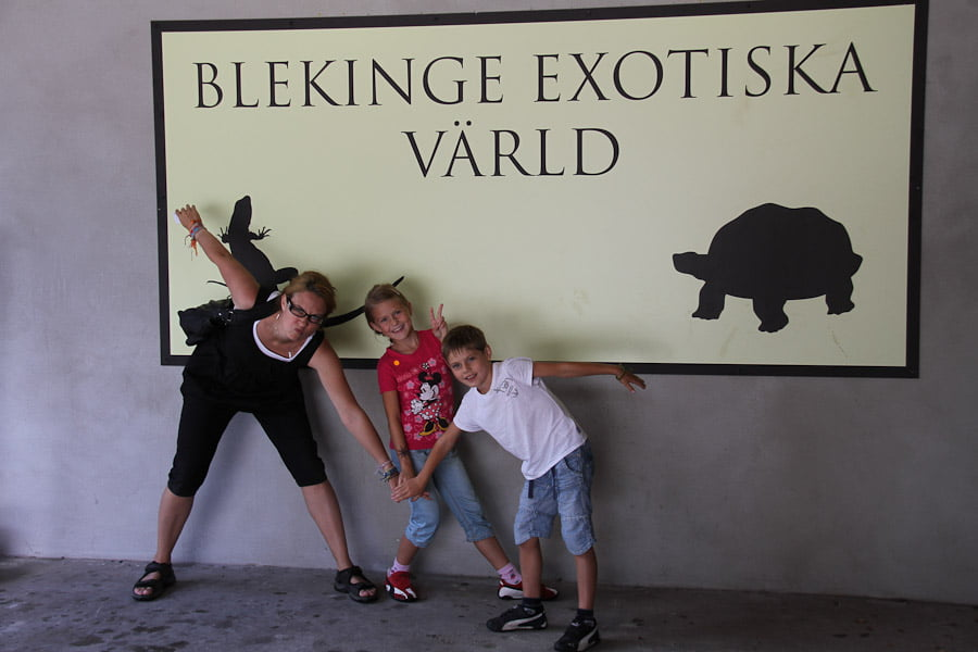 Blekinges exotiska varld