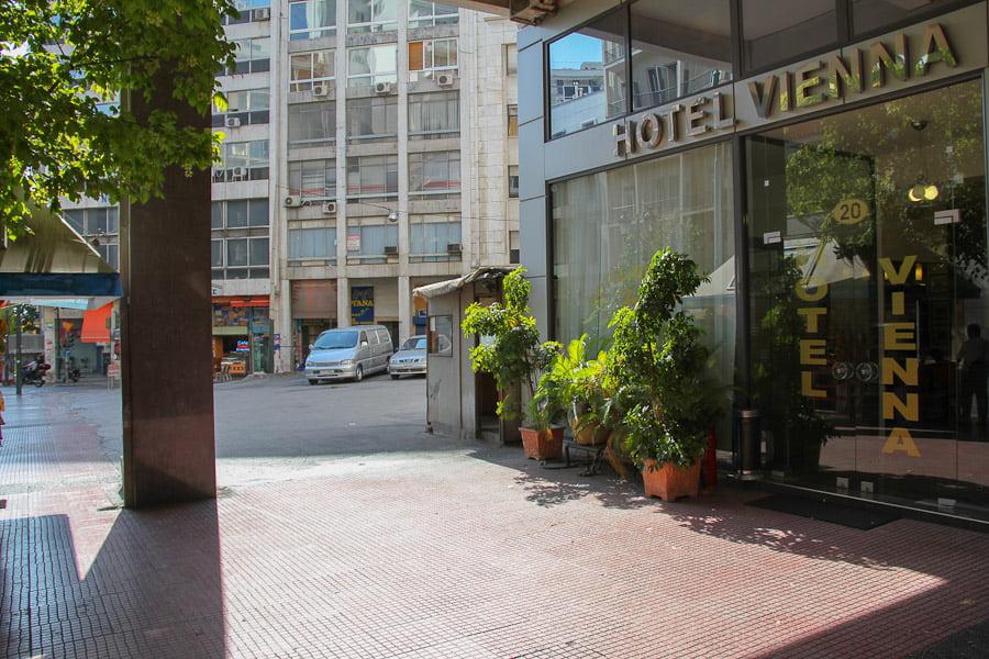 Vienna hotell Athens-4