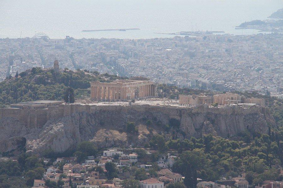 Utsikt-Aten
