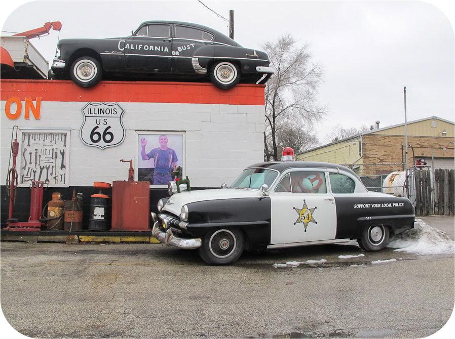 Dicks on Route 66, Illinois.