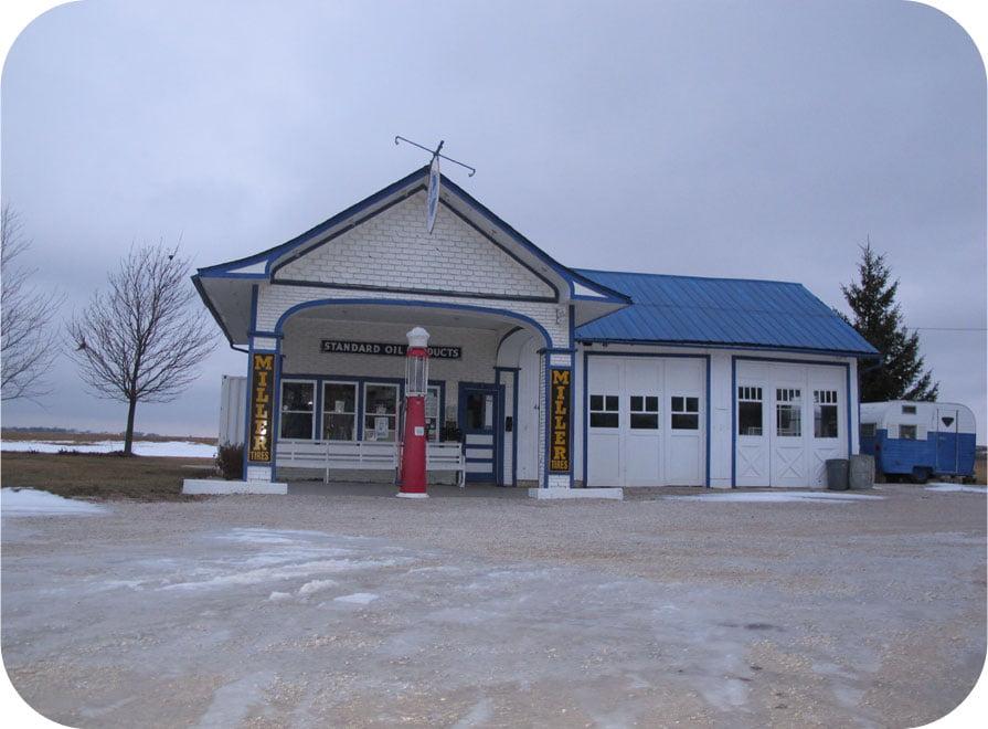 Standard Oil Gas Station