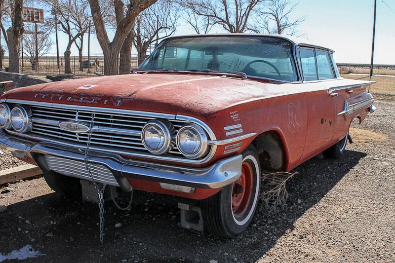 Route 66 car