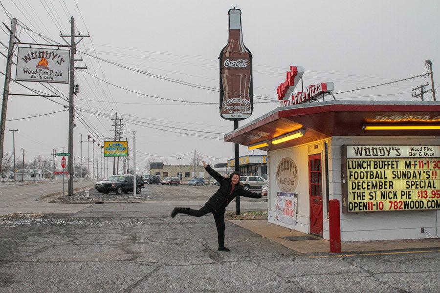 Giants on Route 66: Giant Coke Bottle!