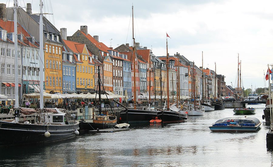A walk in Copenhagen city center