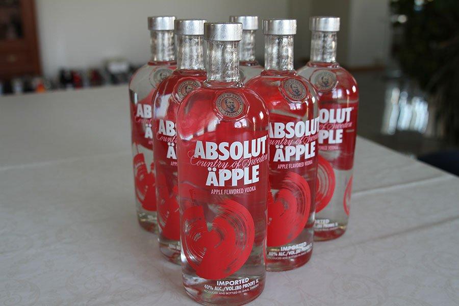 Absolut Äpple 6 x 1 liter
